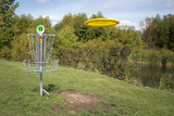 Frisbee Golf With Disc