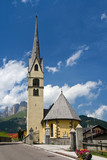 Alba di Canazei, la chiesa poster