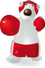 polar bear and boxing