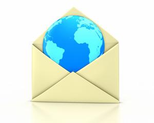 Letter open earth new