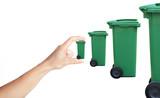 déchet poubelle augmentation traitement filière recyclage poster