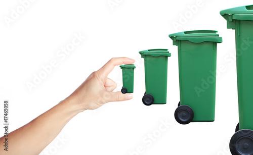 poster of déchet poubelle augmentation traitement filière recyclage