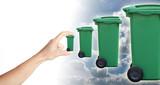 déchet poubelle traitement augmentation filière recyclage poster