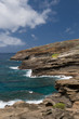View from Lanai Lookout, east Oahu, Hawaii