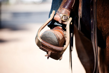Boot in Stirrup