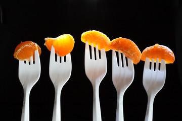 Tangerine Segments
