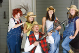 Redneck Farmer Family