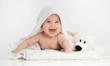 Leinwanddruck Bild - little child baby