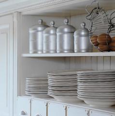estanterias de la cocina