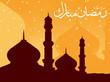 islamic festival background, illustration