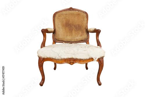 vieux fauteuil - 17477419