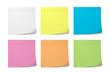 Leinwanddruck Bild - Sticky Notes