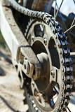 Fototapety Motorbike chain close-up
