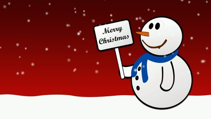 Natale - Pupazzo di neve