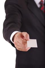 Visitenkarte übergeben