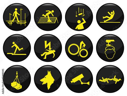 bezpieczenstwo-czarny-ikona-ustawic-indywidualnie-warstwowe
