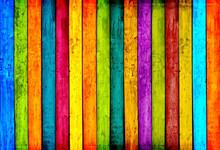 Colorful bois planches de fond