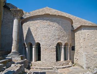 Abbey of the SS. Trinità. Venosa. Basilicata.