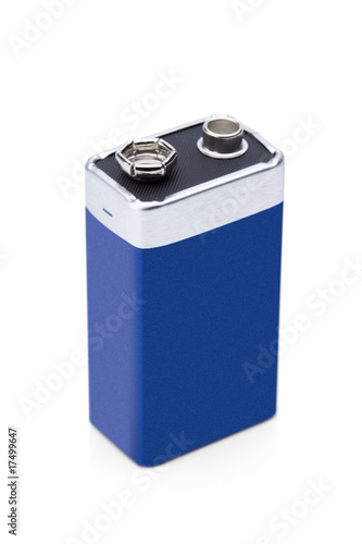Leinwanddruck Bild Batterie