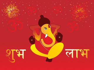 illustration for diwali