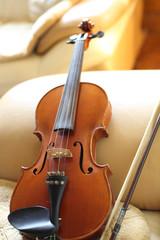 violin at home