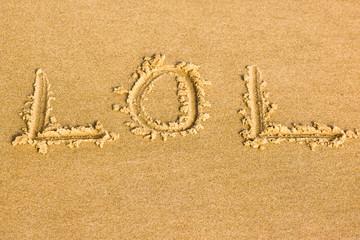 lol dans le sable