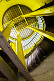 yellow steel structure