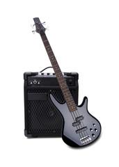 E-Bass und Bassverstärker