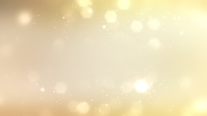 1080P Gold Particle Background Loop