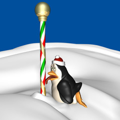 Holiday Penguin 3
