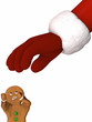 Santa in Gingerbread man Attack