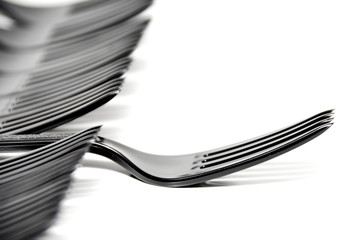 Plastic Fork - Shallow Depth of Field