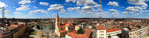 Zrenjanin Capital of Banat Region in Serbia City Panorama