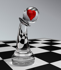 chess - Searching for Love