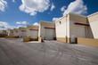 Warehouse Doors in a row