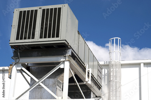 Air handler industrial unit