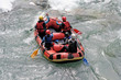 Rafting sur un torrent