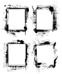 grunge frames 2