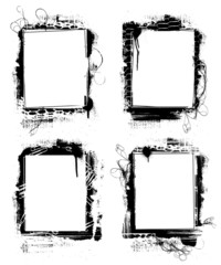 grunge frames 1