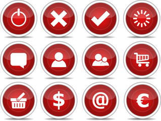Red Icon Set 2