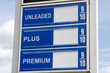 Price Of Gas Sign