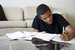 Teen Doing Homework - 17539006