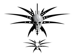 skull & blades
