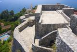 ancient fortress in Herzeg Novi, Montenegro poster