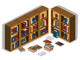 Messed Up library Isometric