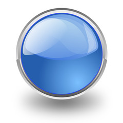 Bottone azzurro senza simboli