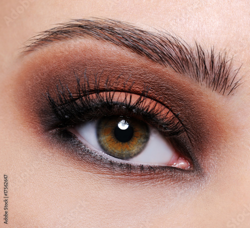 pictures eye makeup. Brown eye make-up