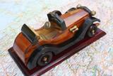 voiture en bois de collection poster