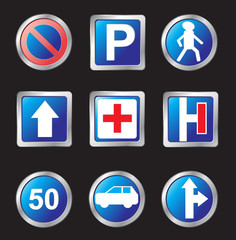 signs of road