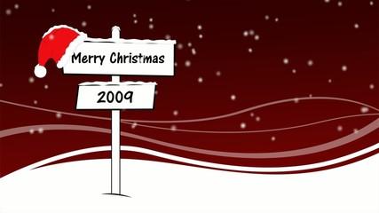 Cartello natalizio